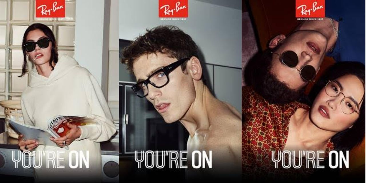 Ray-Ban's launches a new chapter of its latest campaign #YOUAREON that celebrates life lived in the moment