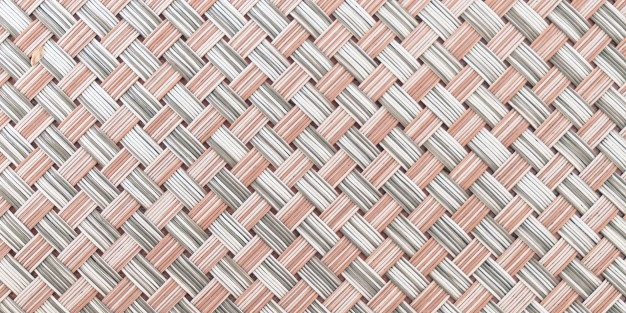 Woven transformation with coarse, re-generated filaments