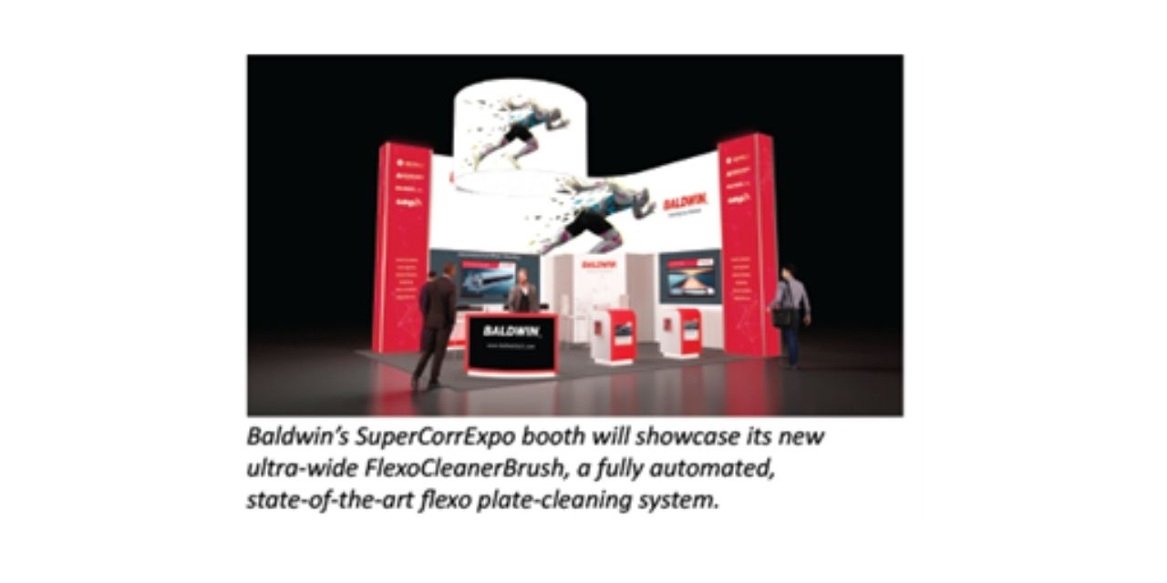 Baldwin to unveil ultra-wide FlexoCleanerBrush™ to corrugated printers at SuperCorrExpo