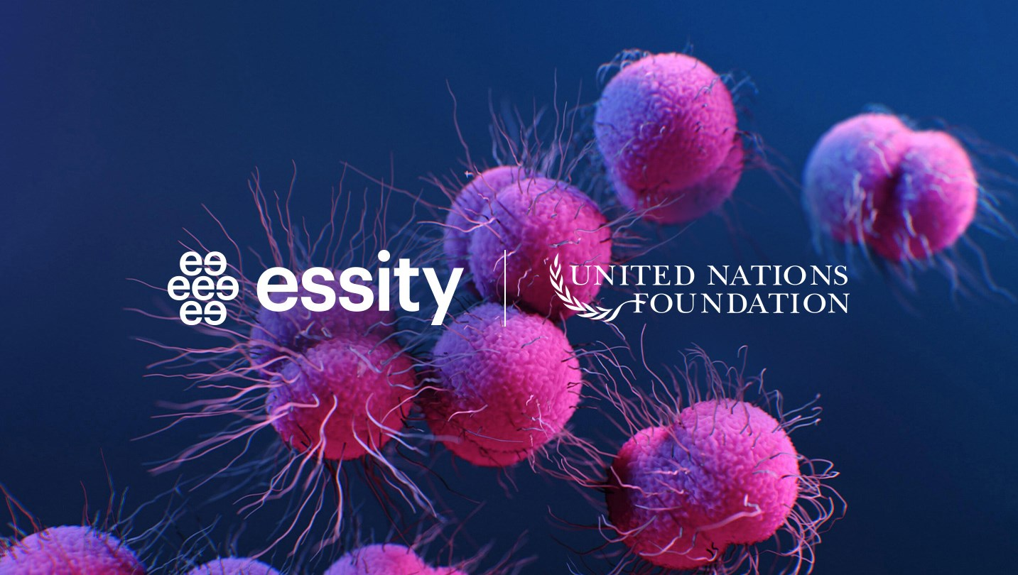 Essity has joined the United Nations Group on Antimicrobial Resistance