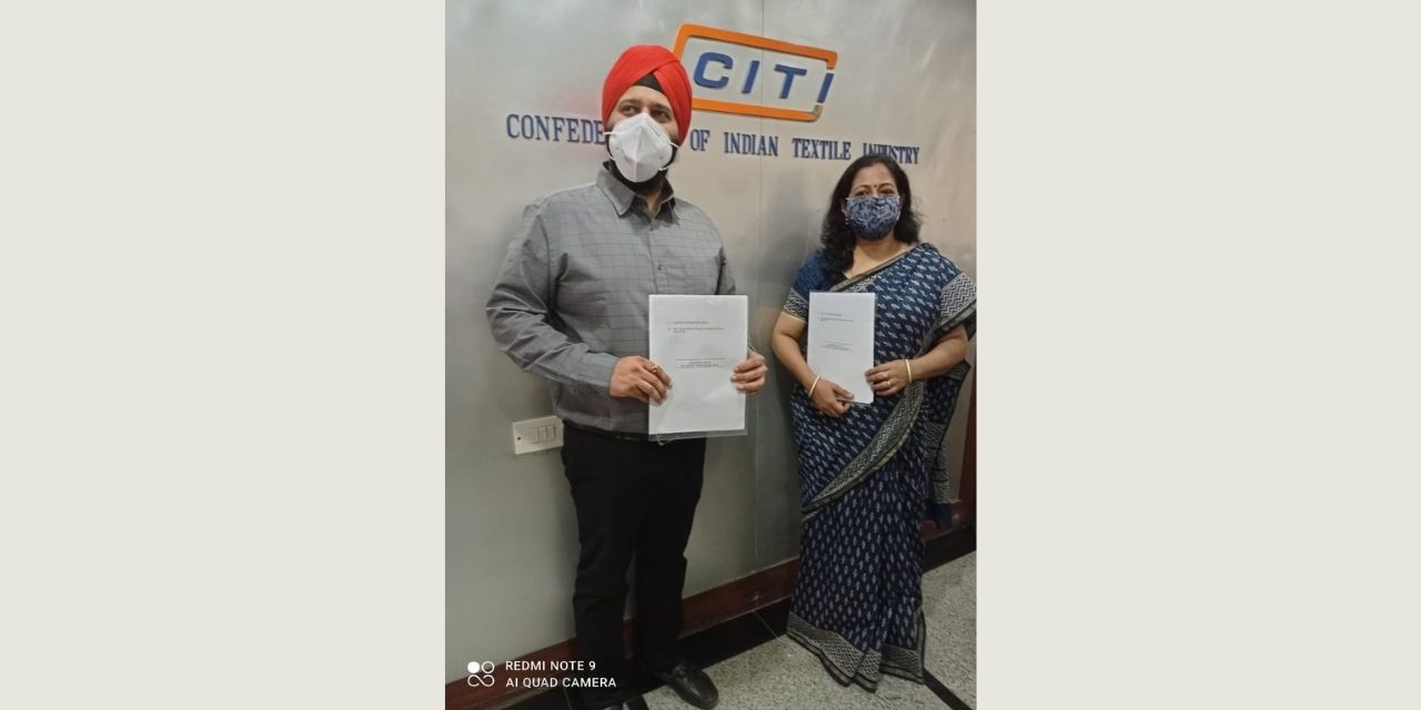 Organisers of Gartex Texprocess India announce strategic tie-up with Confederation of Indian Textile Industry for the hybrid edition