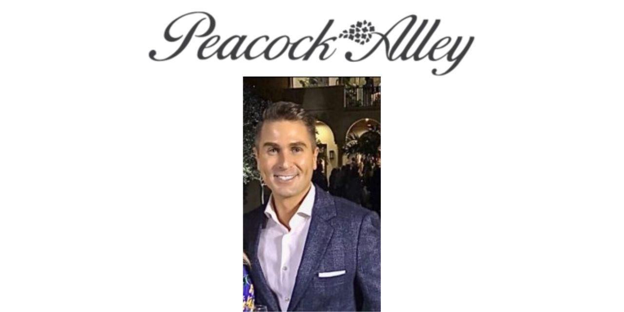 Grant Jackson joins Peacock Alley as VP of consumer experience