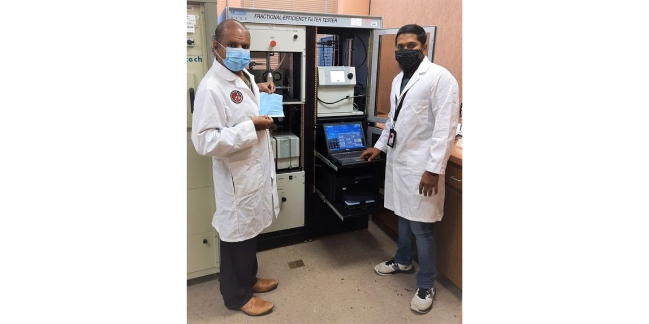 Professor Researches Effectiveness of Face Masks Against Particles Similar in Size to Coronavirus