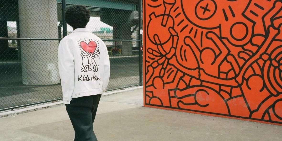 H&M launches collection featuring Keith Haring prints