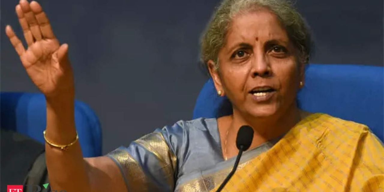 FM Nirmala Sitharaman launches new fund for MSMEs