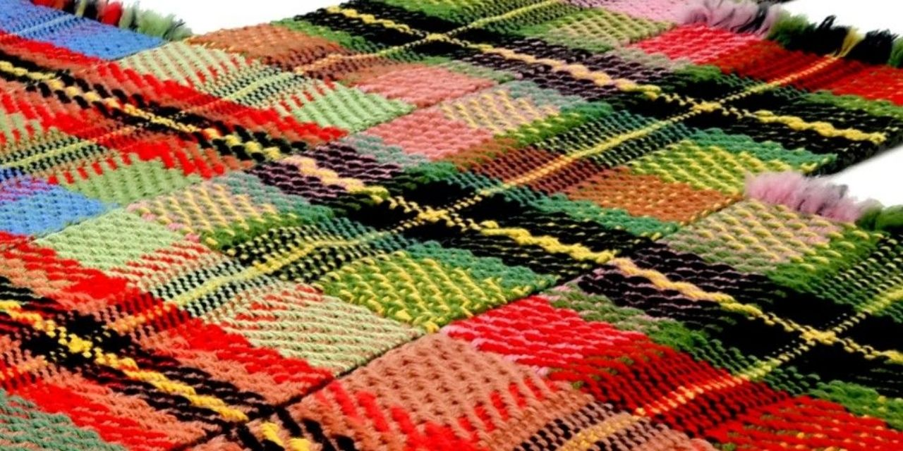 Handwoven carpets and textiles in southeast Iran have become national treasures