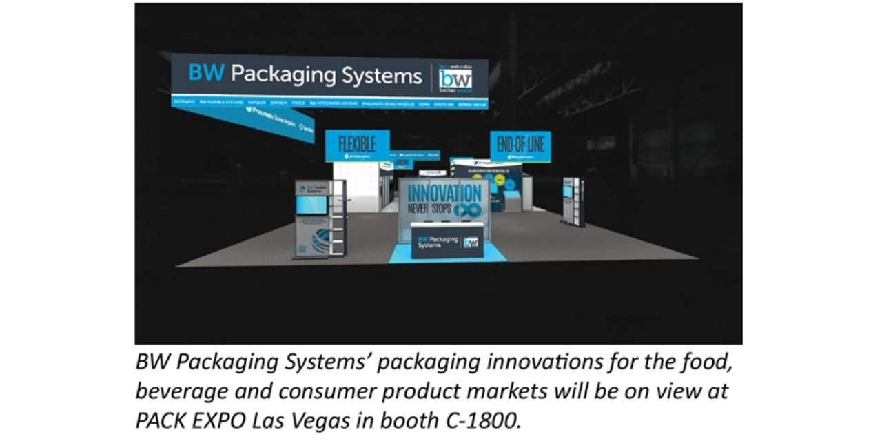"""BW Packaging Systems to show its """"Innovation Never Stops"""" at PACK EXPO"""