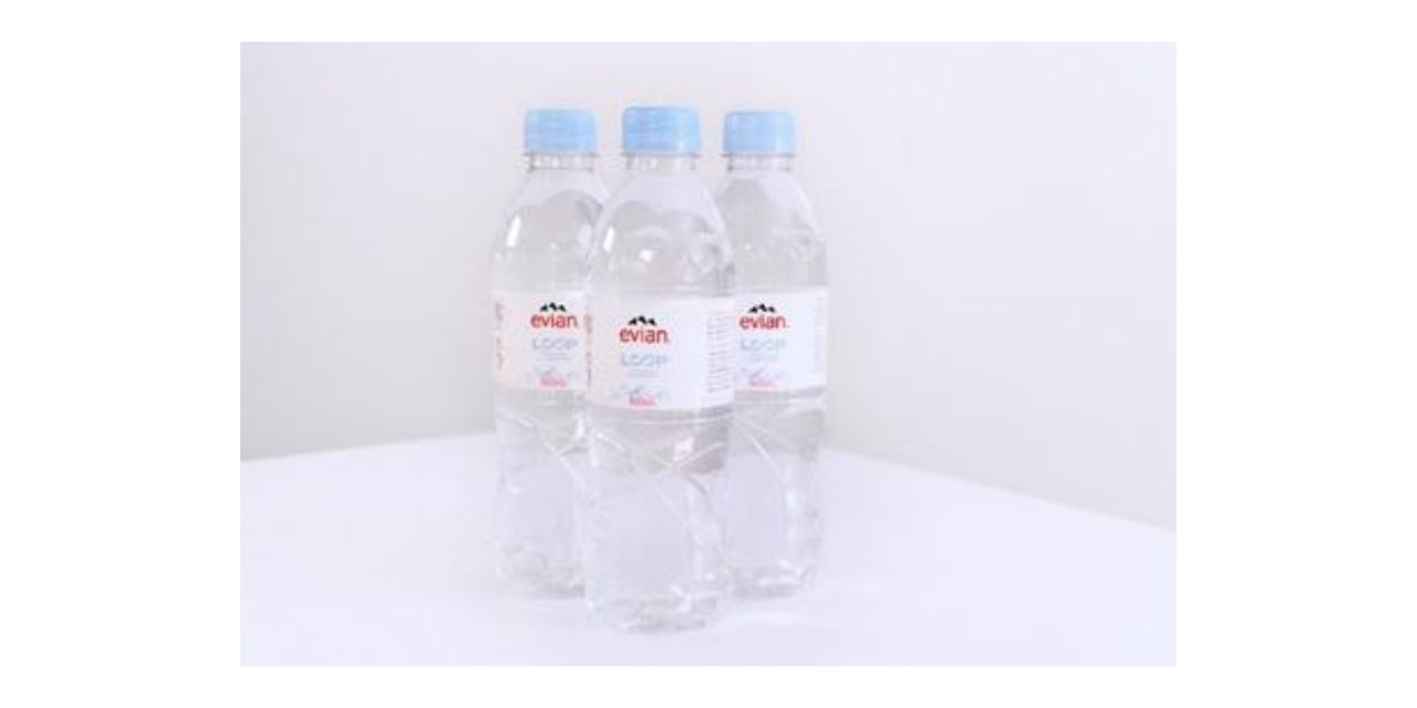 Evian Introduces 100% rPET Bottles Produced by Loop Industries' Innovative Recycling Technology