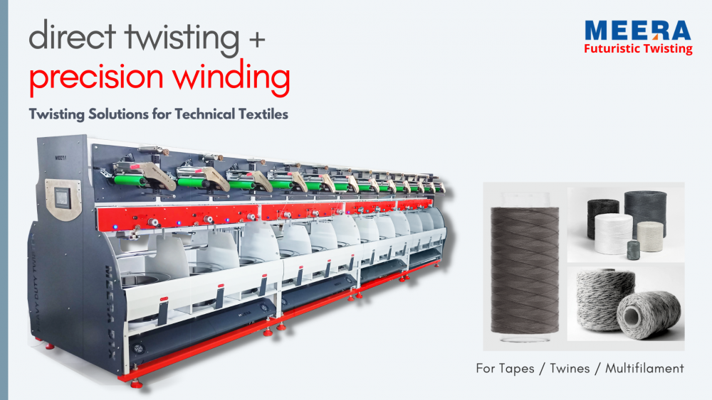 Why is direct twisting + precision winding the answer to all your technical textile Twisting problems?
