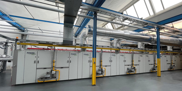 Always one step ahead of the state of the art – WEIDMANN and BRÜCKNER set new standards in stenter technology