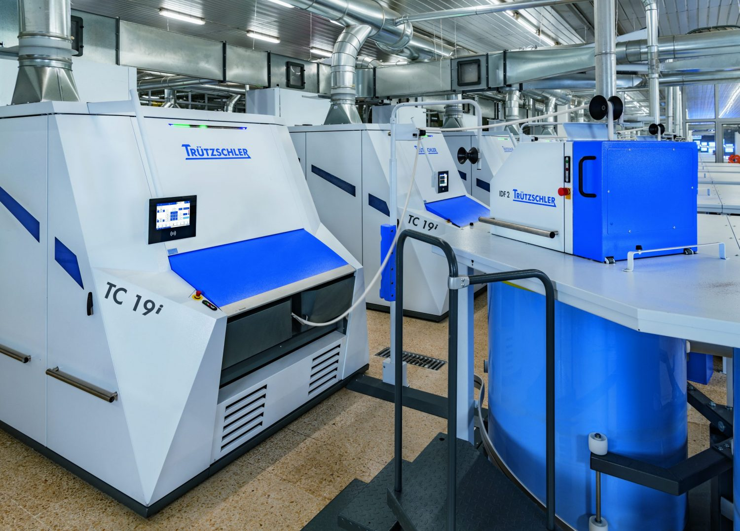 Sustainable and intelligent: The TC 19i sets the benchmark for energy-efficient carding