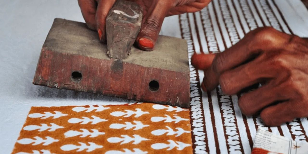 The Indian city of Jaipur is experiencing a surge in hand block printed textile items