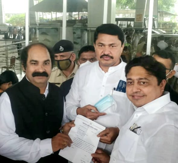 DR.HEMANT SONARE APPOINTED AS PRESIDENT OF INDUSTRY CELL OF MAHARASHTRA PRADESH CONGRESS COMMITTEE