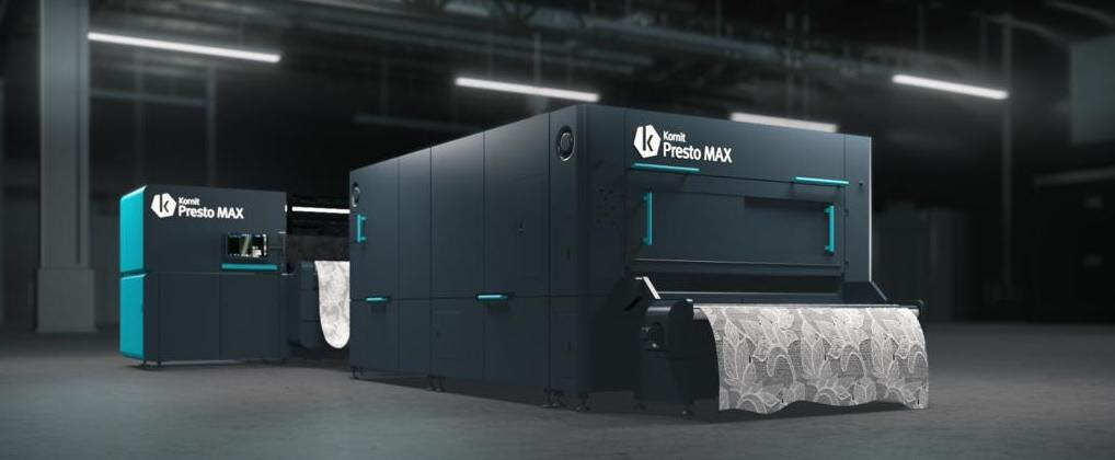 Kornit Digital Introduces Presto MAX, Reinventing Design and Applications Capabilities for Custom Textiles on Demand
